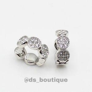 🎉HP🎉 Kate Spade Gatsby huggie hoop earrings